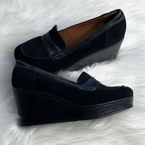 Donald Pliner Wedge Loafers